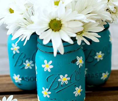 Painted Jars Mothers Day - 404 x 346